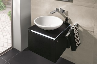 Surface-mounted washbasin round Loop & Friends  by  Villeroy&Boch Bath&Wellness