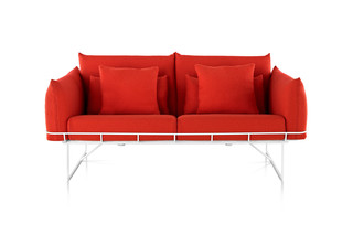 Wireframe Sofa Group  by  Herman Miller