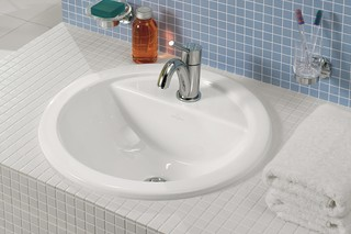 Undercounter washbasin round Loop & Friends  by  Villeroy&Boch Bath&Wellness