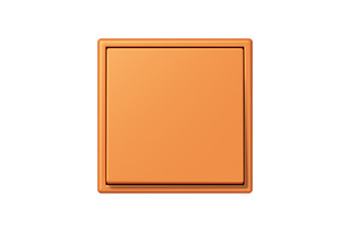 LS 990 in Les Couleurs® Le Corbusier Schalter in Das Orange-Apricot  von  JUNG