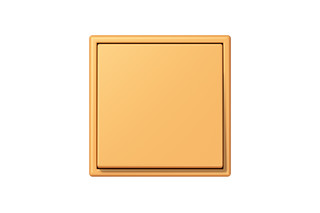 LS 990 in Les Couleurs® Le Corbusier Switch in The golden ochre  by  JUNG