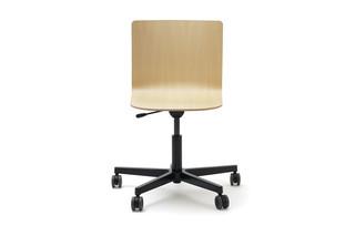 Glyph chair five-star swivel base  by  L&Z