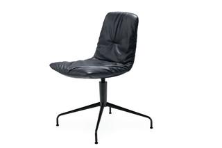 Leya chair with trestle leg  by  Freifrau