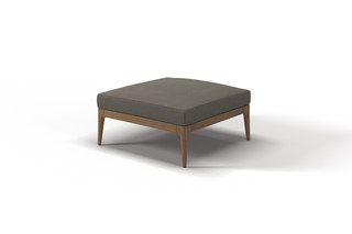 Lima Ottoman  by  Gloster Furniture