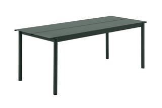 Linear Steel table  by  Muuto