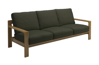 Loop 3-seater sofa  by  Gloster Furniture
