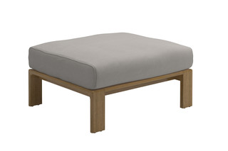 Loop ottoman  by  Gloster Furniture