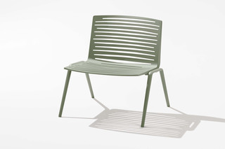 Zebra lounge chair  by  Fast