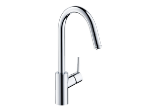 M52 M5214-H260 single lever kitchen mixer 260 with pull-out spout  by  Hansgrohe