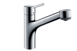 M52 M5216-H170 single lever kitchen mixer 170 with pull-out spray  by  Hansgrohe