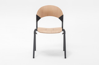 GATE WOOD ROUND CHAIR  von  Mara