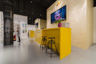 HolaVisio Barcelona 6201. Imperial Yellow  by  KRION