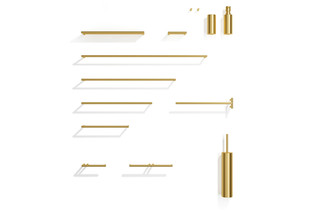 MIKADO brass  by  Decor Walther