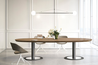 Multipliceo modular conference table  by  Fantoni