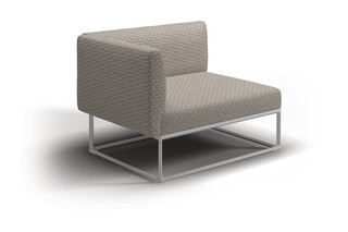Maya Linkes End Modul  von  Gloster Furniture