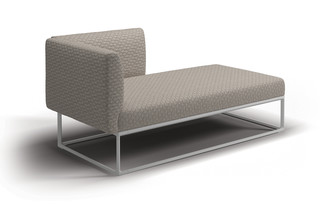Maya Right Chaise Unit  by  Gloster Furniture