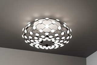 Mesh ceiling lamp  by  Luceplan