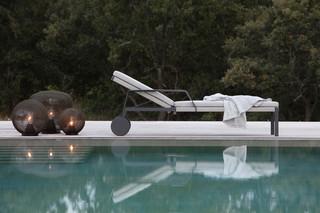 Nodi adjustable lounger  by  Tribù