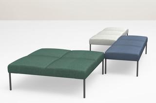 Noora bench  by  Martela