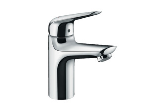 Novus single-lever washbasin mixer 100 with pop-up waste  by  Hansgrohe