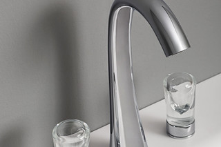 Nude two handle tap  by  Zucchetti