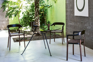 OFFICINA chair steelwood  by  Magis