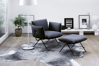 OFFICINA armchair with low couch  by  Magis