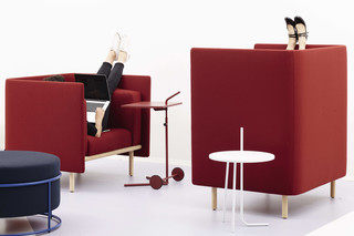 Floater sofa & easy chair  by  COR