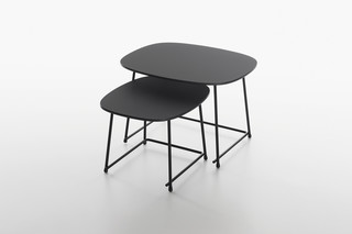 Cup lounge tables  by  Plank