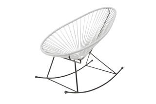 Acapulco Chair Rocking Gris  by  ACAPULCO DESIGN