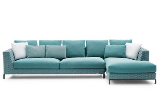 RAY OUTDOOR FABRIC corner sofa  by  B&B Italia