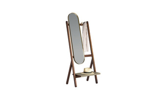 Ren mirror coat rack  by  Poltrona Frau