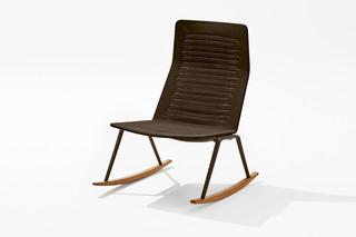 Zebra Knit Lounge-Schaukelsessel  von  Fast