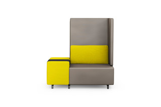 SLE smartE armchair with tray table  by  modul21