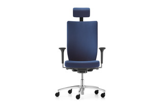 Stilo swivel chair  by  Dauphin
