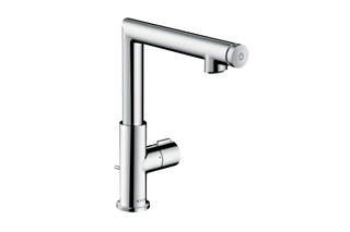 Axor Uno Select basin mixer 220 with pop-up waste set  by  AXOR