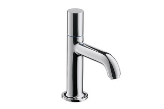 Axor Uno Pillar tap 70, without waste set  by  AXOR