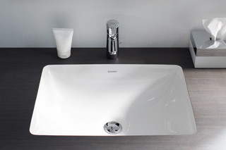 Starck 3 bulit-in washbasin  by  Duravit