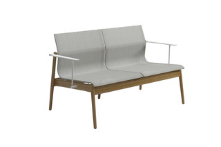 Sway Teak sofa  by  Gloster Furniture