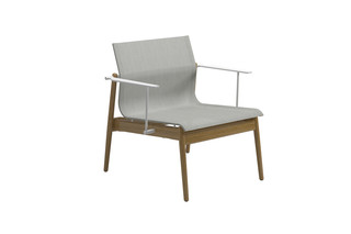 Sway Teak lounge chair  by  Gloster Furniture