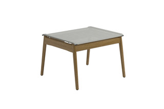 Sway Teak ottoman  by  Gloster Furniture