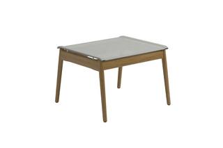 Sway Teak Hocker  von  Gloster Furniture