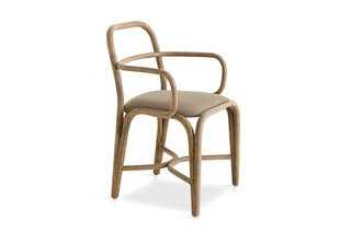 Fontal upholstered dining armchair T011 U  by  Expormim