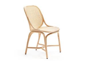 Frames Stuhl, Fußgestell in Rattan T040 R  von  Expormim