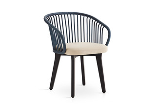 Huma dining armchair with solid wood legs T070 W  by  Expormim