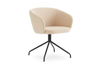 Huma upholstered swivel armchair T071 S  by  Expormim