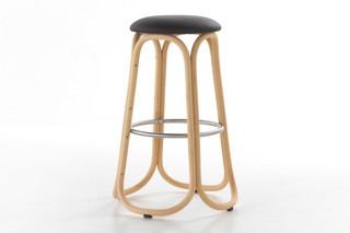 Gres high bar stool T088  by  Expormim