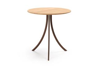 Bistro Indoor Tisch mit runder Platte T903 R  von  Expormim