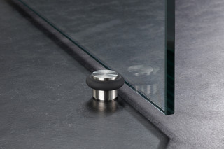 Doorstop glass door TSB25-23G  by  PHOS