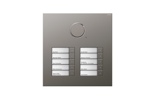 Door station stainless steel  by  Gira